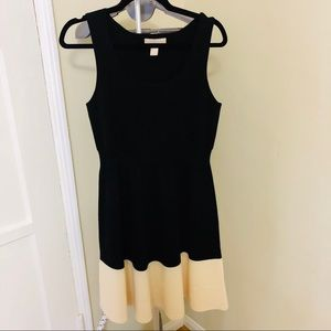 Banana Republic Colorblock Merino Wool Dress M